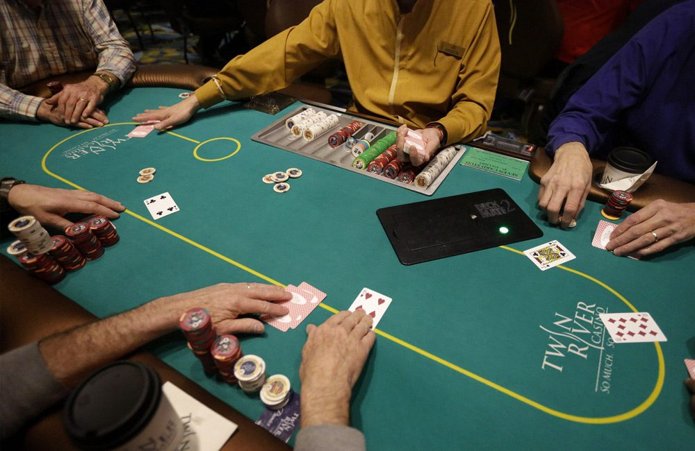 Texas Hold Em poker style