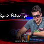 10 online poker tips