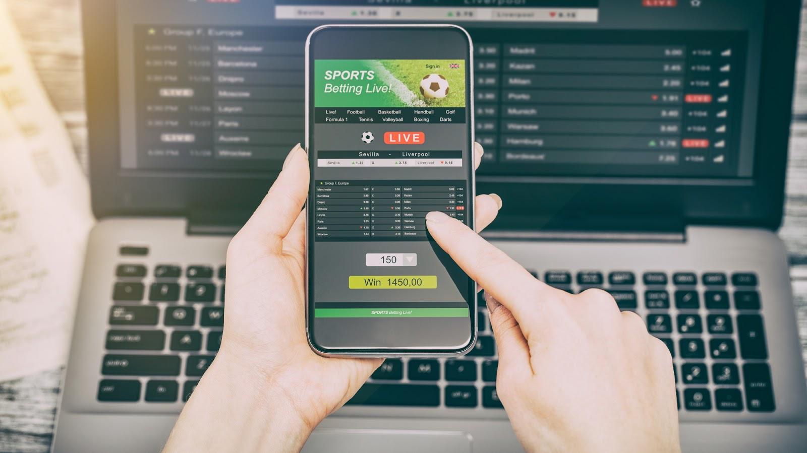 Online Betting Website